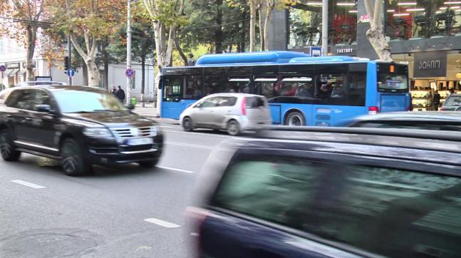 თბილისში, ჭავჭავაძის გამზირზე სატრანსპორტო მოძრაობის სქემა 7 მარტიდან იცვლება