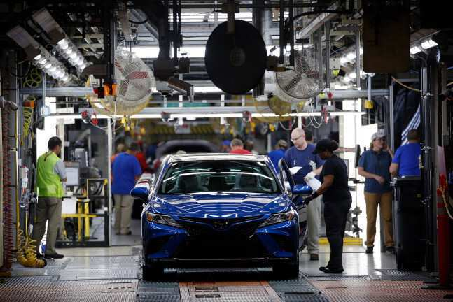 Toyota, Honda და Nissan-ი აშშ-ში ქარხნებს აჩერებენ