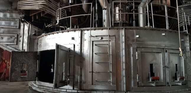 ზესტაფონის ფეროშენადნობთა ქარხანაში 22.5 მეგავატიანი ღუმლის კაპიტალური სარემონტო სამუშაოები დასრულდა