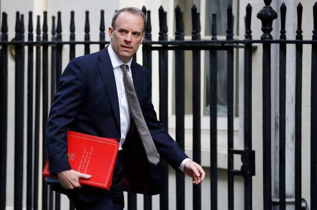ბორის ჯონსონის მოვალეობას დროებით ბრიტანეთის საგარეო საქმეთა მინისტრი შეასრულებს