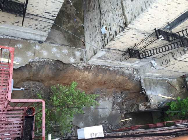 ავარიული სახლის დემონტაჟისას კედლის ჩამონგრევის შედეგად სამი მუშა დაშავდა