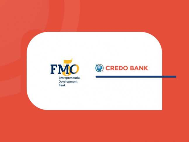 Credo Bank and the Dutch Entrepreneurial Development Bank (FMO) Signed 30 Million Lari Facility Agreement