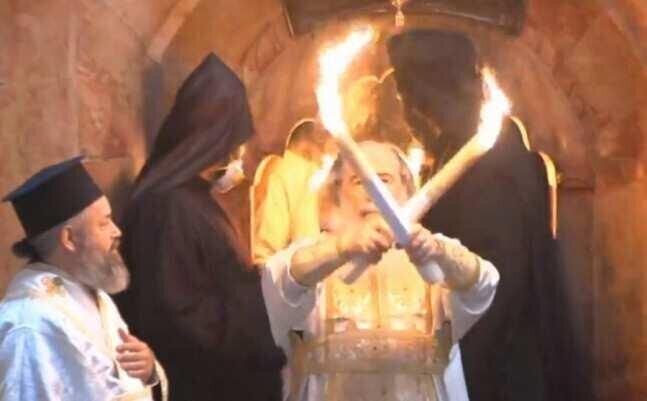 წმინდა ცეცხლი თბილისში უკვე ჩამოიტანეს