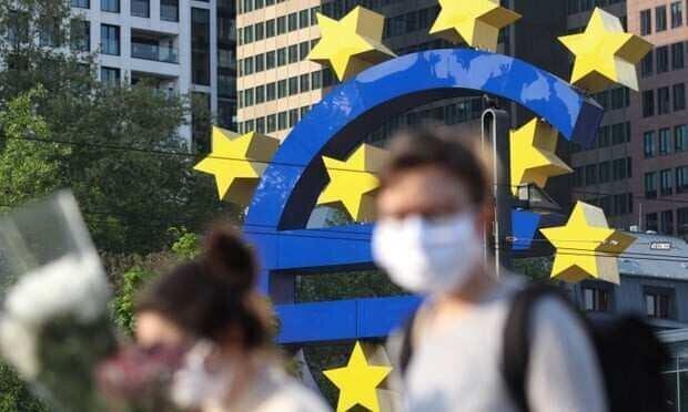As eurozone records 3.8% slump ECB chief warns of worse to come