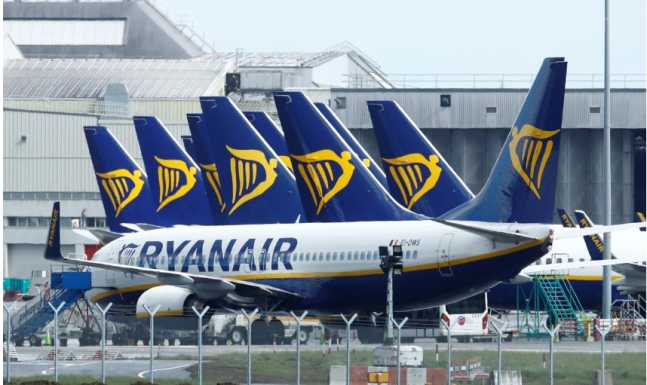 Ryanair passengers down by 99.6% in April, Wizz Air down by 97.6%