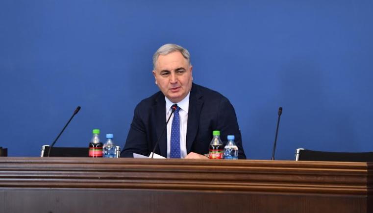ირაკლი კოვზანაძე წელს ეკონომიკის 4%-ზე მეტ ვარდნას ვარაუდობს