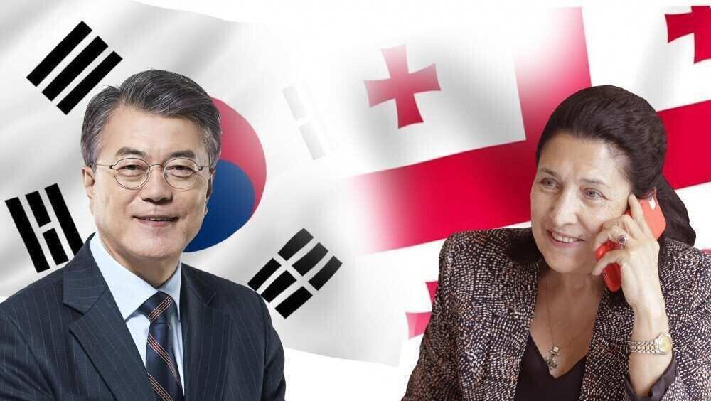სალომე ზურაბიშვილი: სამხრეთ კორეის პრეზიდენტთან თავისუფალ ვაჭრობაზე ვისაუბრე