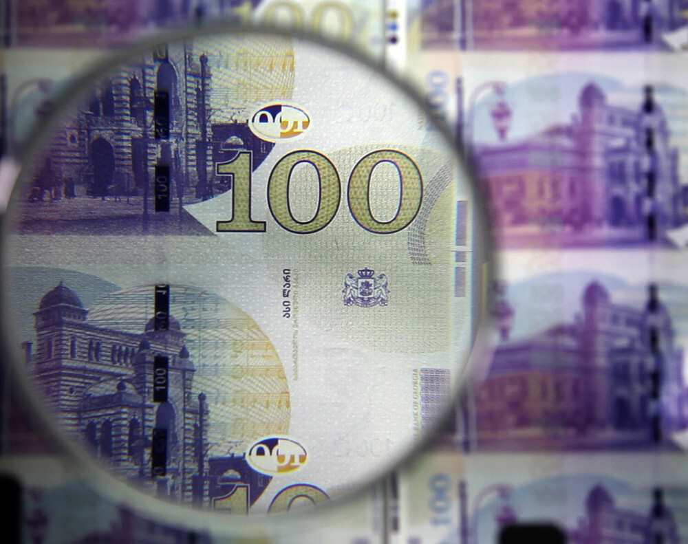 GEL Strengthens by 0.92 tetri against USD, while devaluated by 0.3 tetri against EUR