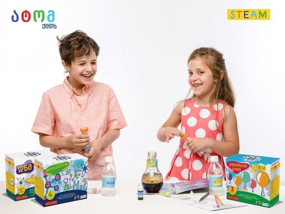 Atom Kids-ი პროდუქციის ექსპორტზე გატანას გეგმავს