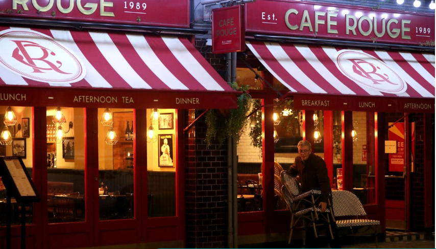 Cafe Rouge, Bella Italia could see nearly a third of outlets closed