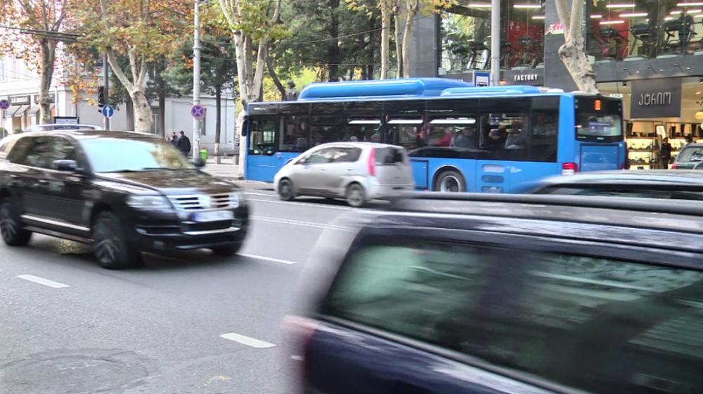 ჭავჭავაძის გამზირზე ტრანსპორტის მოძრაობის სქემა დროებით იცვლება