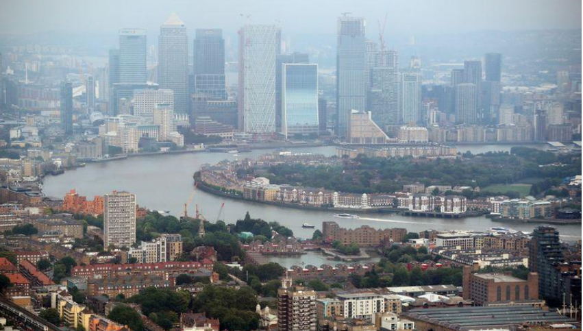 UK economy shows biggest drop in 40 years in early 2020