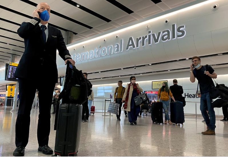 UK will ditch travel quarantine for 75 countries, Daily Telegraph says