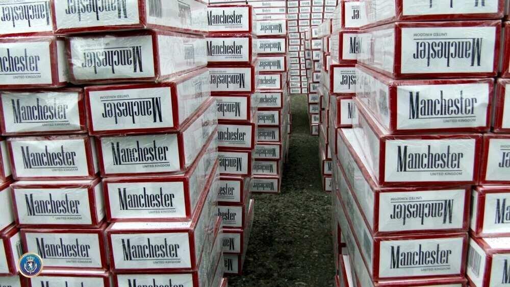 საგამოძიებო სამსახურმა 375 000 ლარის უაქციზო სიგარეტი ამოიღო