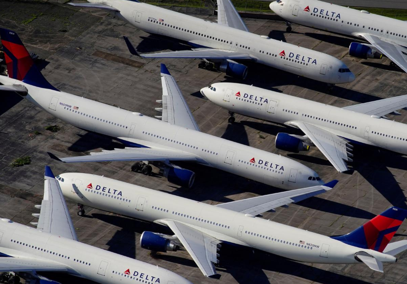 Delta Air to take up to $3 billion charge related to voluntary retirements