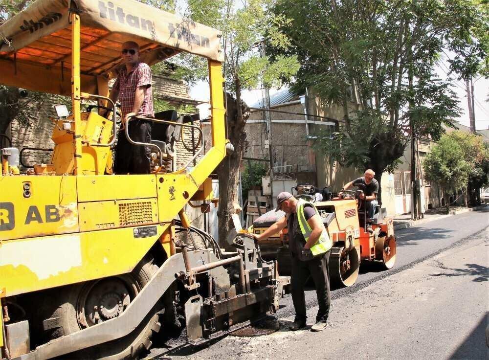 ჩუღურეთში გოგი დოლიძის ქუჩაზე ასფალტს აგებენ – პროექტის ღირებულება 130 000 ლარია