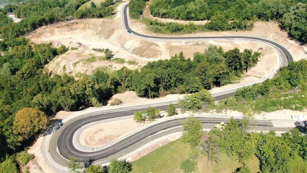 Rehabilitation of Zemo Imereti-Racha Road Actively Progressing