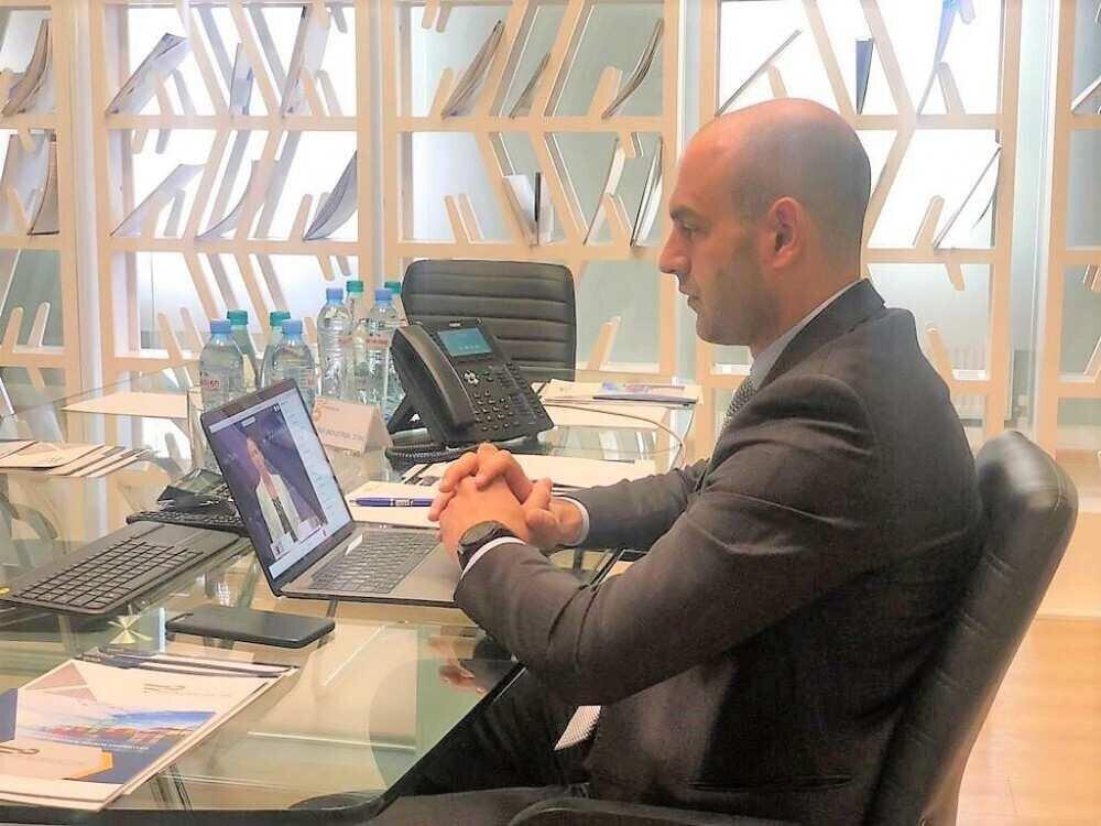Director of Poti FIZ, David Ebralidze held an online meeting with the US Ambassador