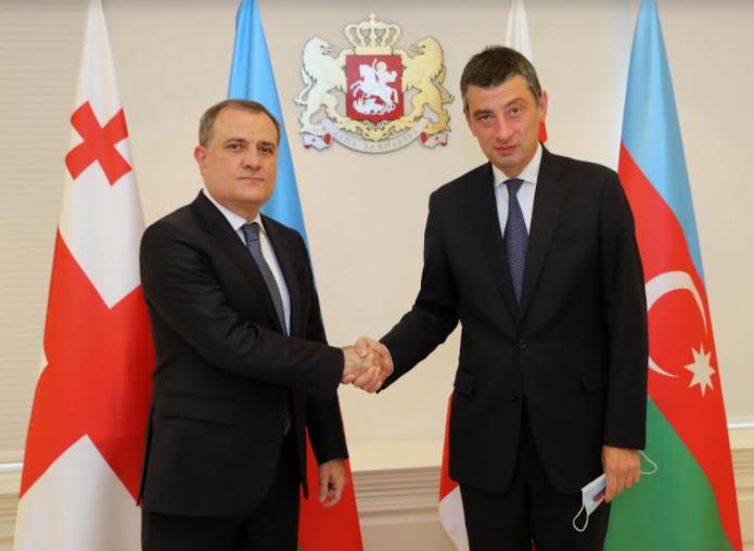 Prime Minister of Georgia Meets Foreign Affairs Minister of Azerbaijan