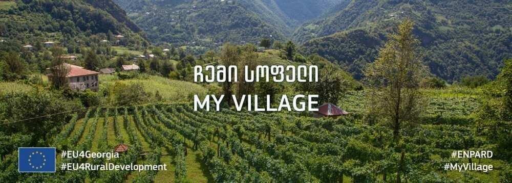 """""""ჩემი სოფელი"""" - ევროკავშირი საინფორმაციო კამპანიას იწყებს"""