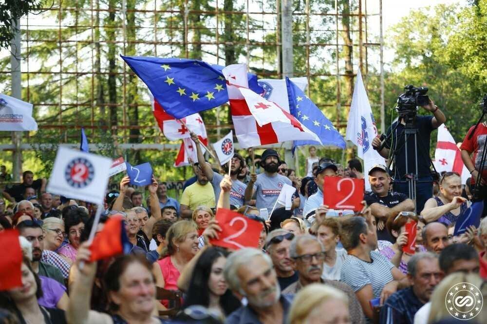 """""""ევროპული საქართველოს"""" საარჩევნო სია 31 ოქტომბრის არჩევნებისთვის"""