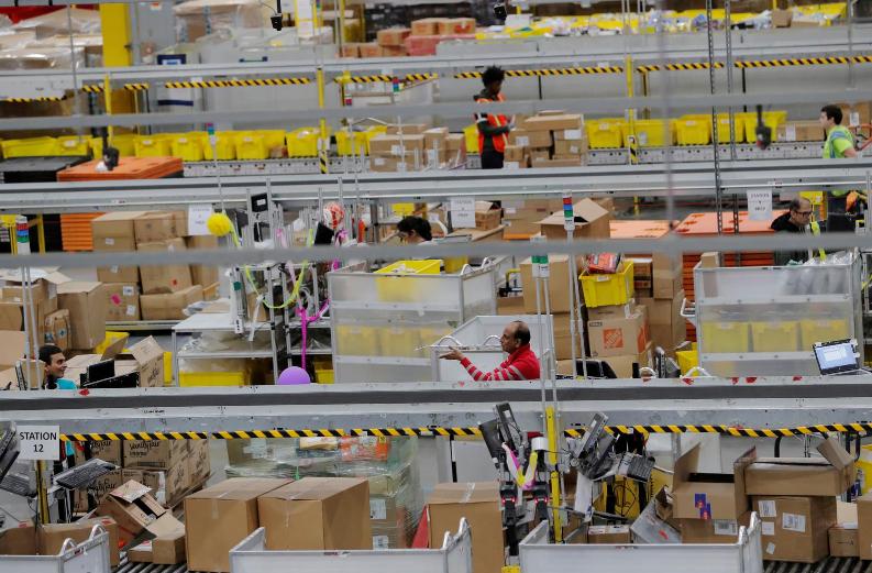 Amazon reports over 19,000, or 1.44%, of U.S. frontline employees had COVID-19