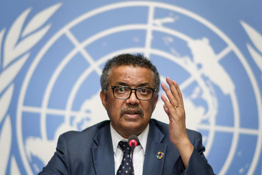 WHO-ს ხელმძღვანელმა ტრამპებს სწრაფად გამოჯანმრთელება უსურვა