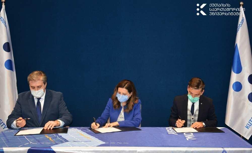ქუთაისის საერთაშორისო უნივერსიტეტი და ბრიტანეთის საბჭო თანამშრომლობას იწყებენ