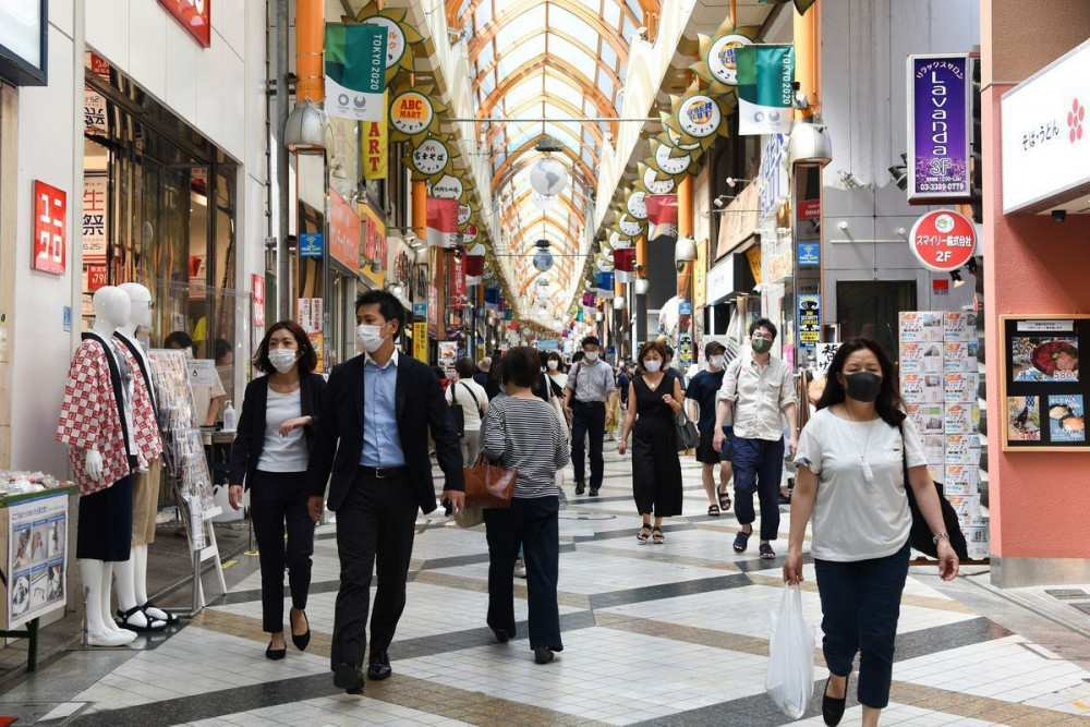 Japan's September service sector activity shrinks at slowest pace since pandemic's start