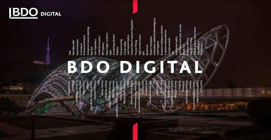 BDO საქართველოში ციფრული ტრანსფორმაციის სერვისებისთვის ახალ ბრენდს BDO Digital-ს ქმნის