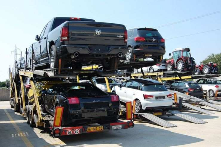 How does COVID-19 affect auto imports?