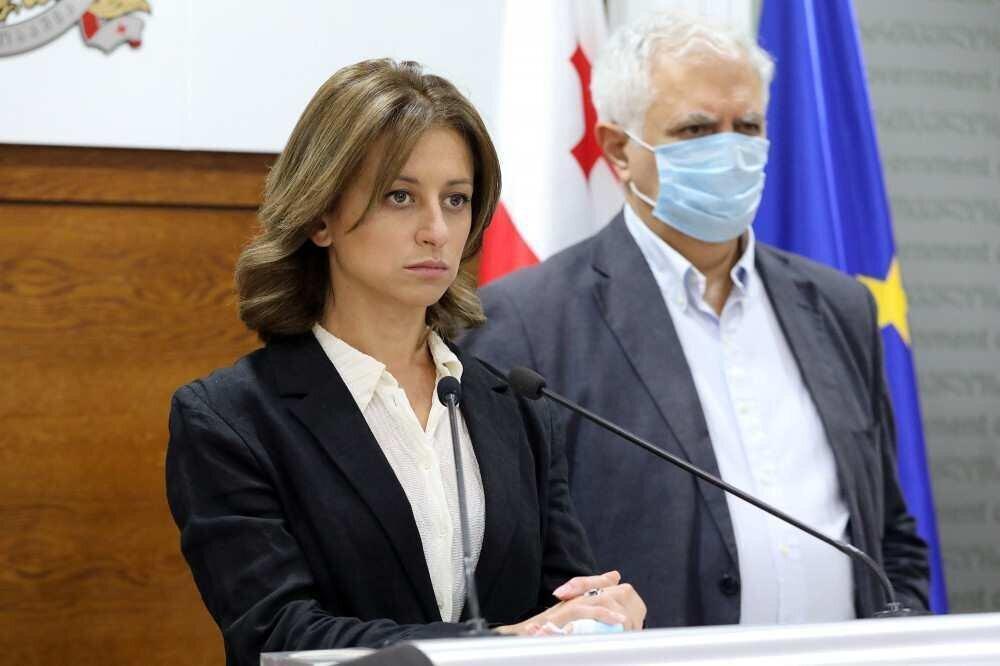 Tikaradze announces tightening of measures regarding the use of face masks