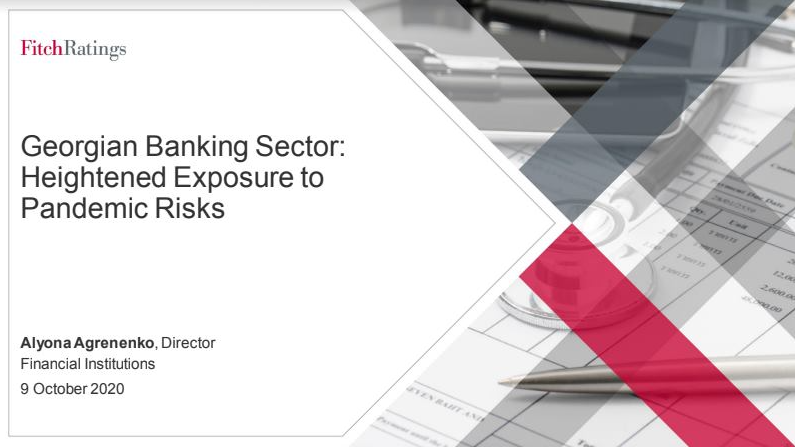 Pre-impairment profitability of banks will likely improve in 2H20 and 2021 - Fitch on Georgia