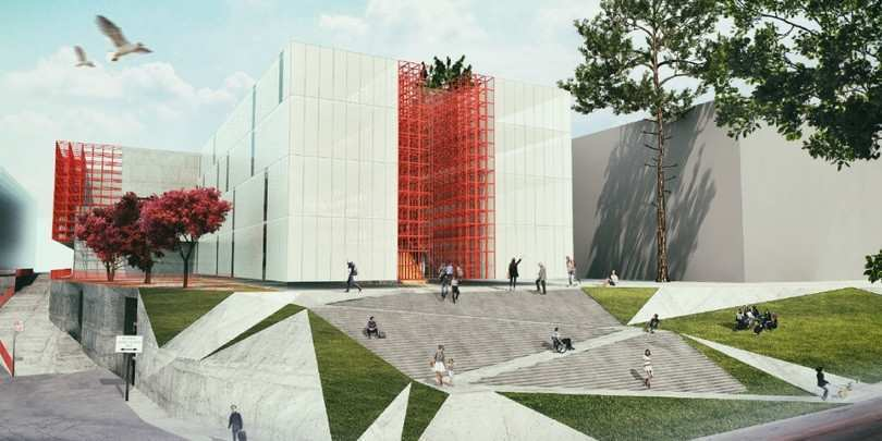 """საზოგადოებრივი მაუწყებლის ახალ შენობას 43.6 მილიონად """"დაგი"""" ააშენებს"""