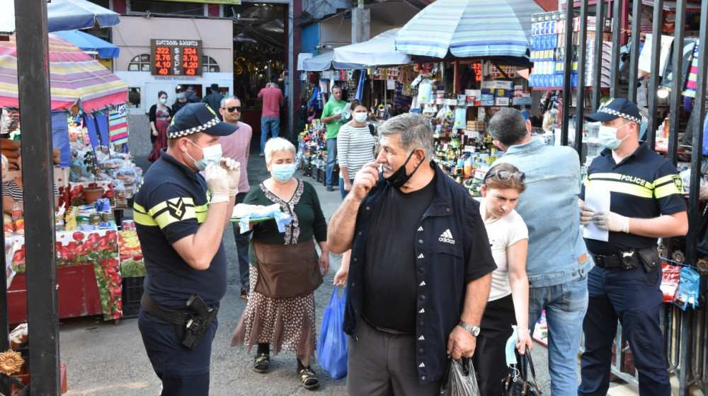 საპატრულო პოლიცია აგრარულ ბაზრებსა და ბაზრობებზე კონტროლს ახორციელებს