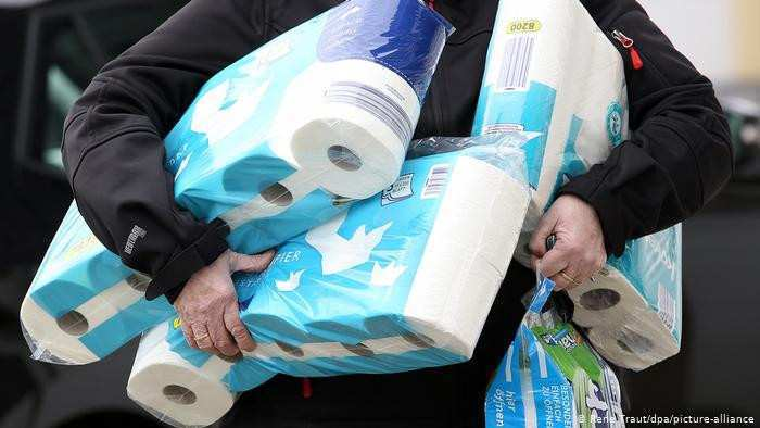 Toilet paper panic buying surges Germany - DW