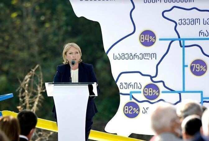 მინისტრი: 2021 წლის ბოლოს ერთიან გაზგამანაწილებელ ქსელში 1 400 000-მდე აბონენტი ჩაერთვება