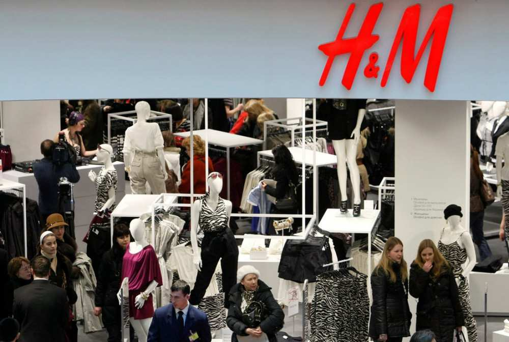 How much revenue does H&M have in Georgia?