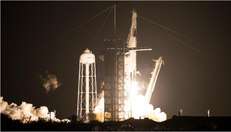 SpaceX-ის ხომალდმა საერთაშორისო კოსმოსურ სადგურს მიაღწია