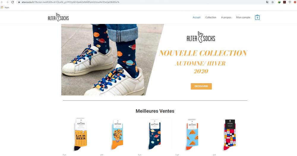 Altersocks.fr – წინდების ქართულმა მწარმოებელმა საფრანგეთში ონლაინ მაღაზია აამოქმედა