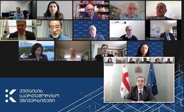 KIU-ს საერთაშორისო მრჩეველთა საბჭომ უნივერსიტეტის განვითარების პირველი ეტაპი შეაჯამა