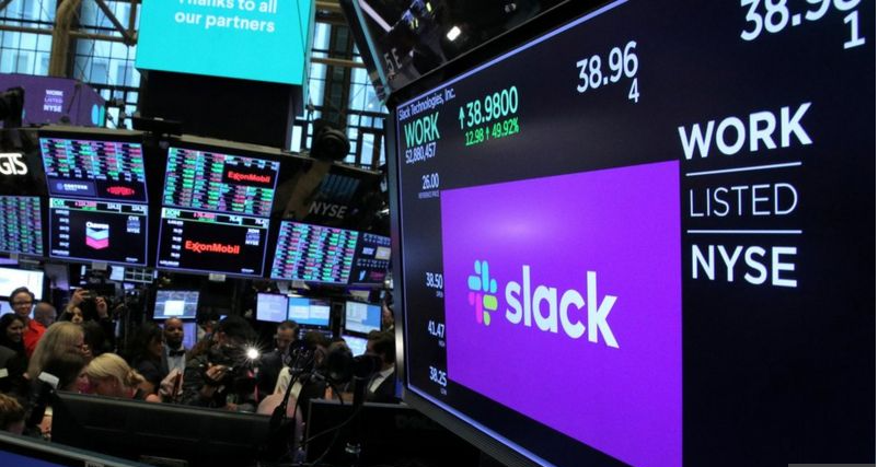 Slack sold to business software giant for $27.7bn