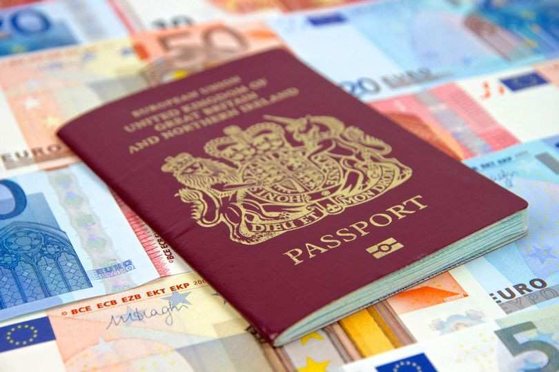 British travellers could be banned from entering the EU unless they pay to renew their passport