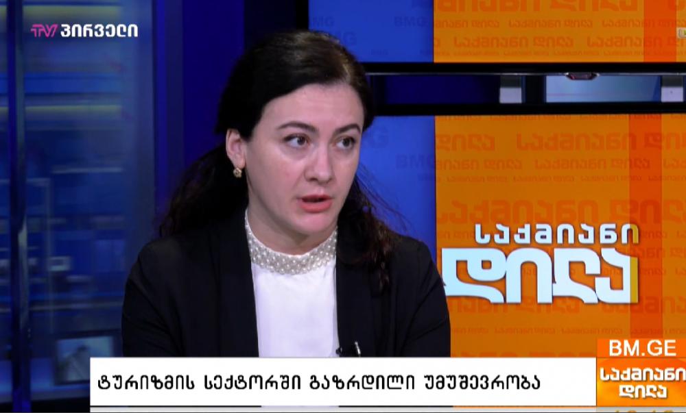 საქართველოში, ტურიზმის სექტორში 220 ათასმა ადამიანმა დაკარგა სამუშაო - ექსპერტი