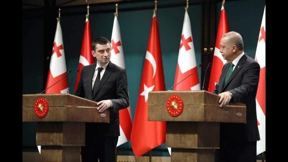 ერდოღანი-გახარიას: თქვენი ბრძნული ლიდერობით, ჩვენს ქვეყნებს შორის თანამშრომლობა გაგრძელდება