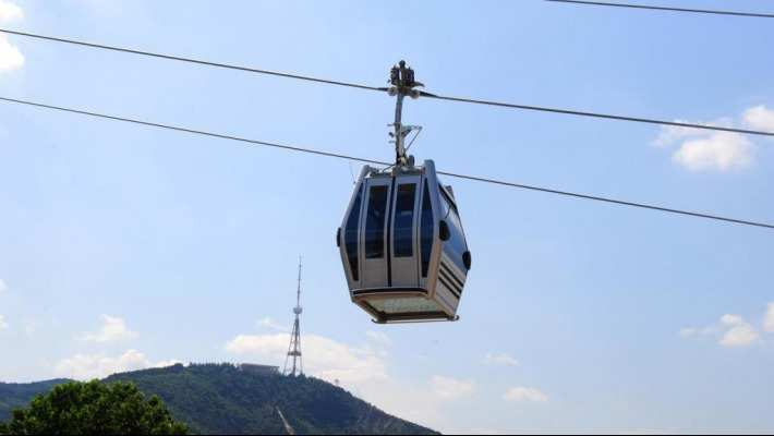 City Hall to Pay 1.85 MLN EUR to DOPPELMAYR for Finishing Mtatsminda-Rustaveli Ropeway