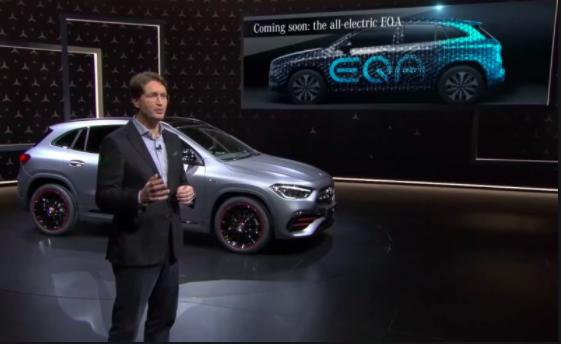 Mercedes-მა პირველი ელექტრო ქროსოვერი წარადგინა