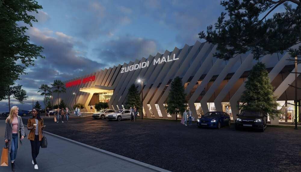ზუგდიდში სავაჭრო ცენტრი – Zugdidi Mall აშენდება – ფოტო