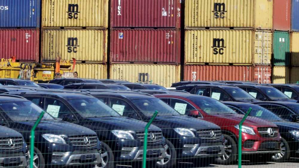 Number of Vehicle Re-export Down by 66,000 in 2020