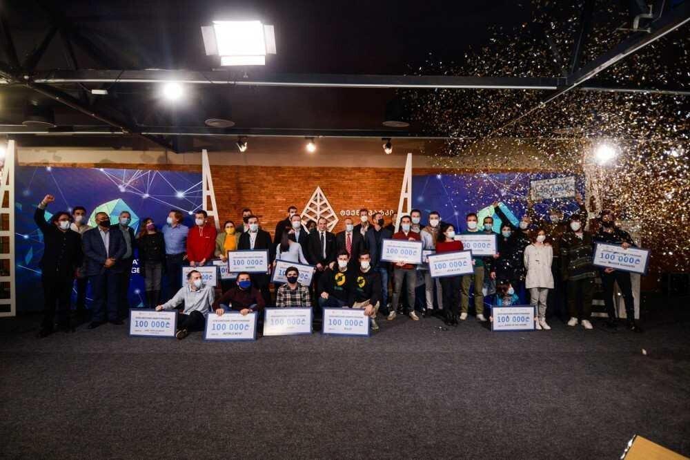 20 სტარტაპი, რომელმაც GITA-ს 100 000 ლარიანი თანადაფინანსების გრანტი მოიგო